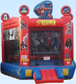 Jumping Castles-Spiderman